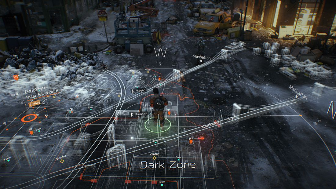 The division UI map