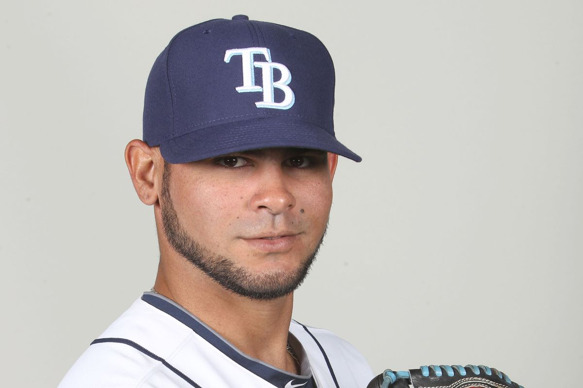 Alex Torres goes for the Durham Bulls today.