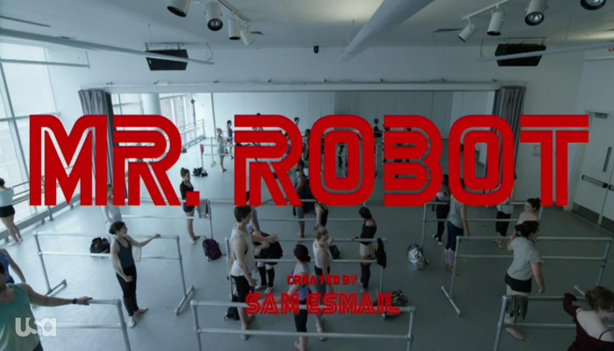 Mr. Robot title screen