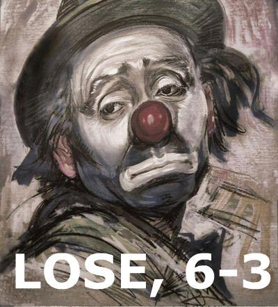 LOSE, 6-3
