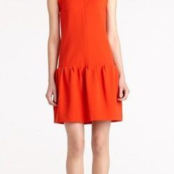 """<a href=""""http://www.dvfsamplesale.com/Maeryn%20Dress/D5406696U12,default,pd.html?dwvar_D5406696U12_color=BORAN"""">Maeryn Dress</a>, $194 (was $485)"""