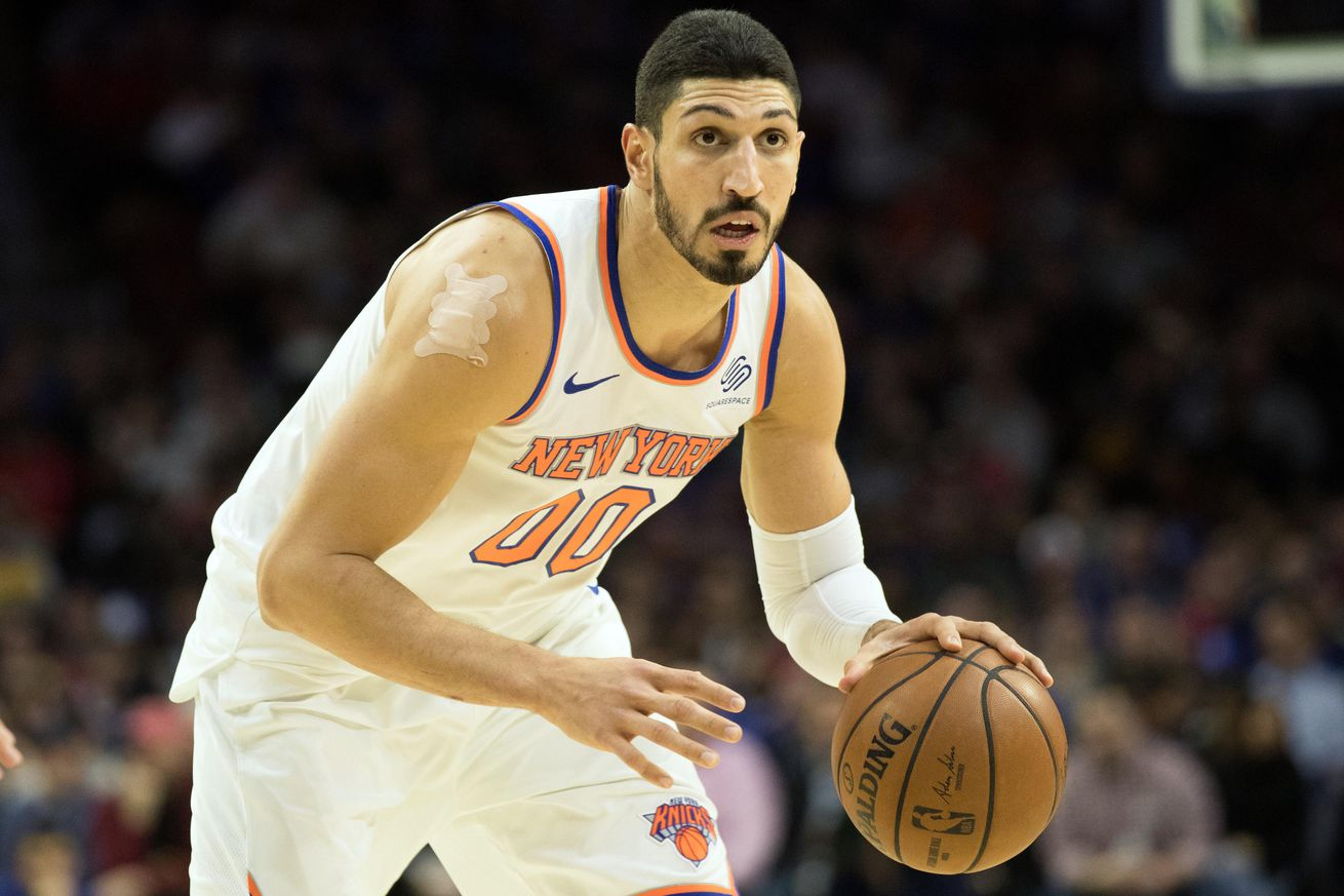 usa today 11876529.0 - Why Turkey is seeking an international arrest warrant for Knicks' Enes Kanter