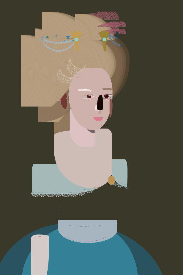 "Hand-coded digital artwork ""Francine"" is skewing your online"