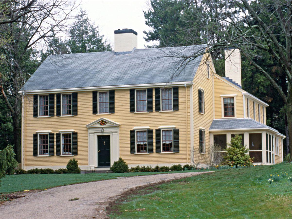 Milton House exterior shot
