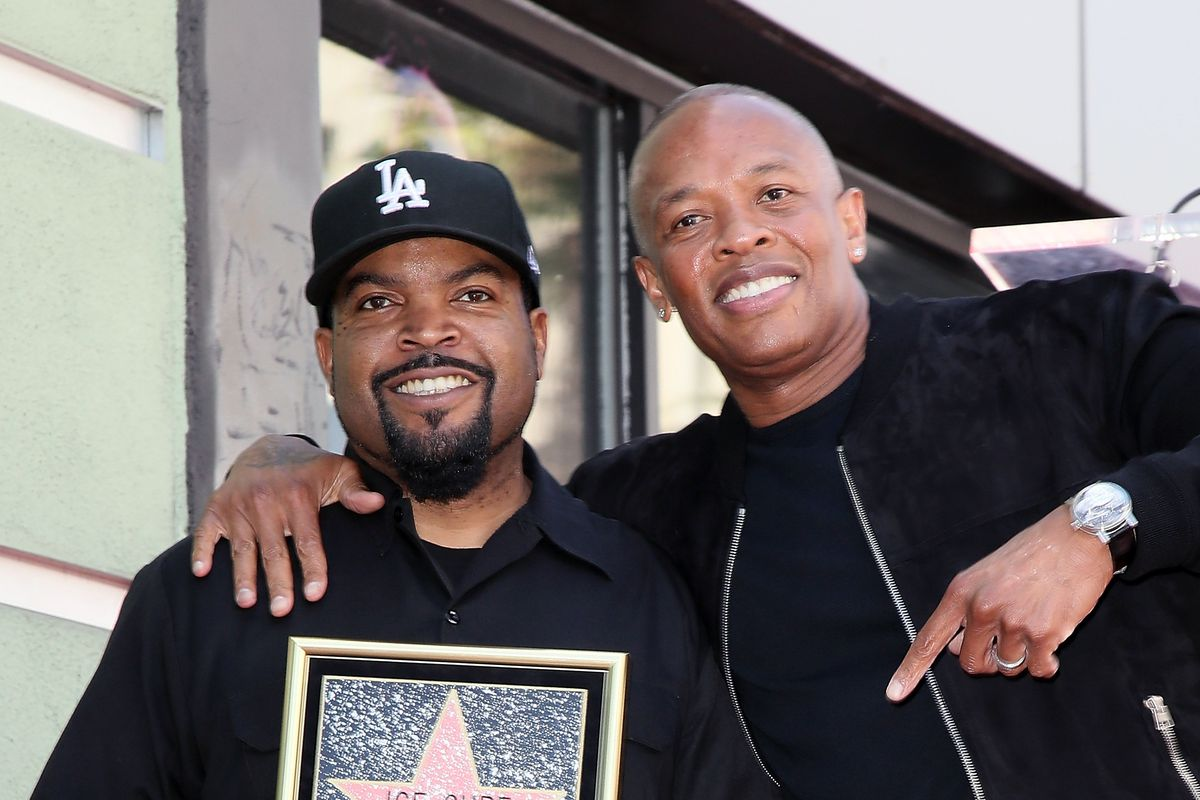 Ice Cube and Dr. Dre