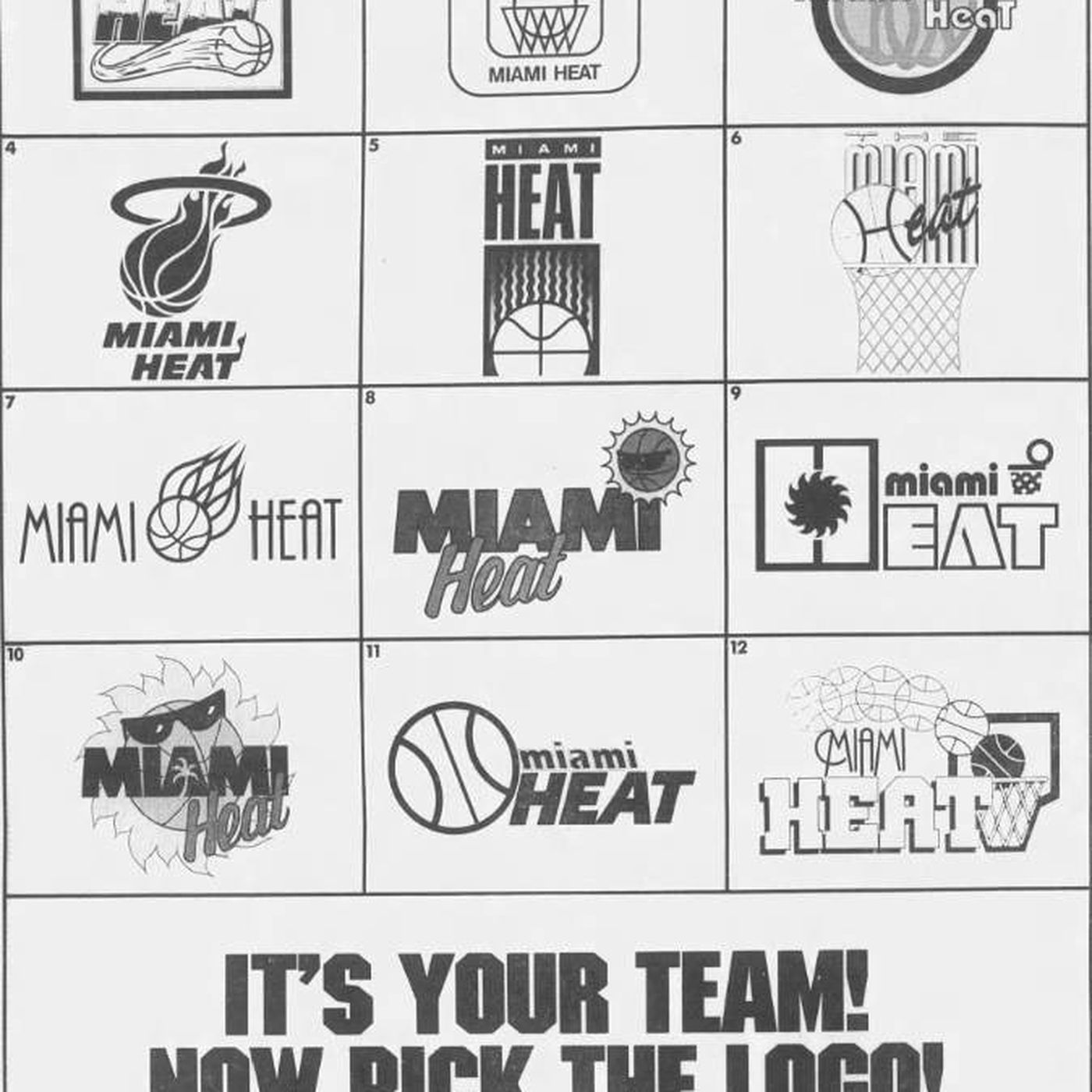 Ranking Every Possible Miami Heat Logo From The 1980s Sbnation Com