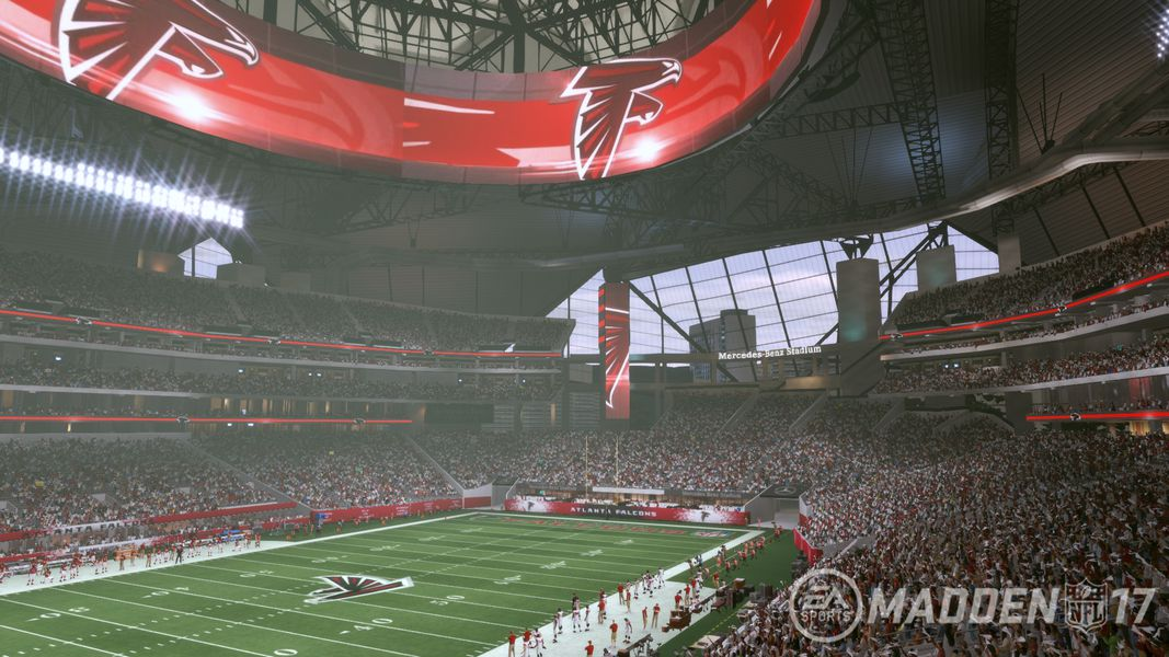 Tour The Nfl 39 S Newest Stadium With Madden Nfl 17 Polygon