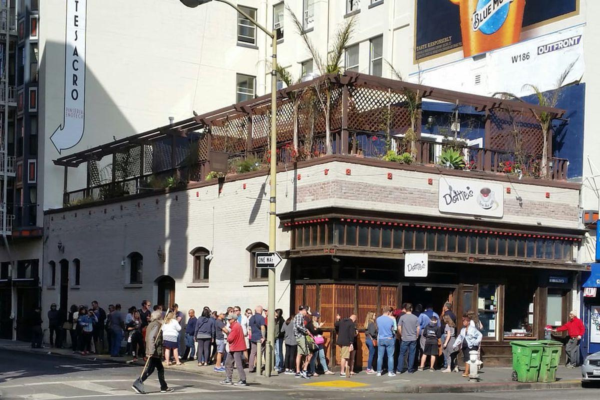 Dotties Blue Cafe San Francisco