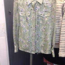 Long sleeved blouse, $95