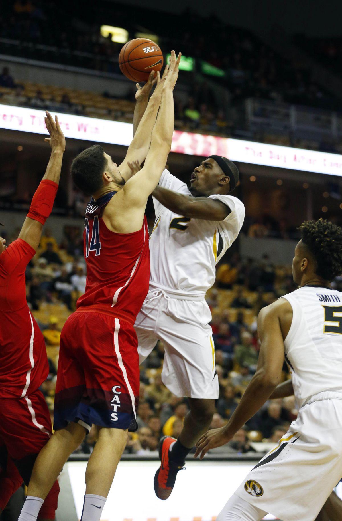 NCAA Basketball: Arizona at Missouri