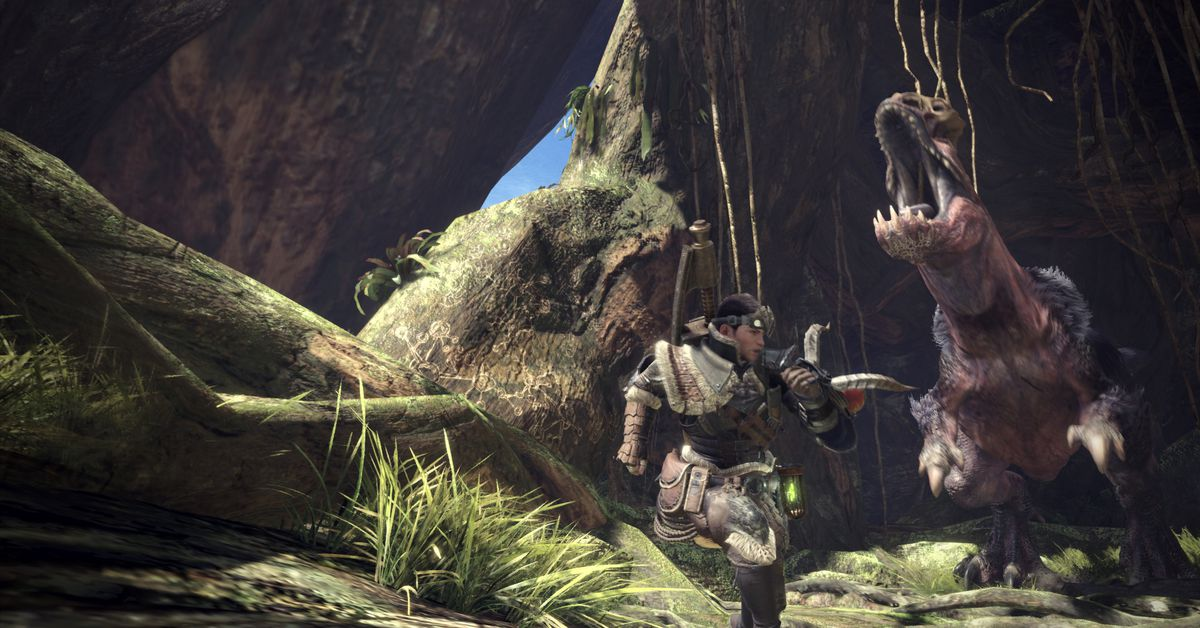 Monster Hunter World is just as good on PC