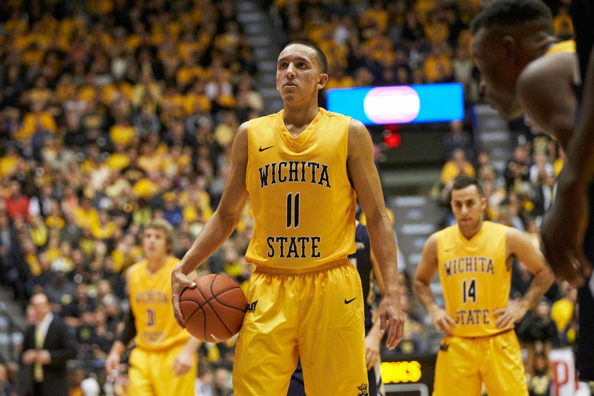 outlet store af6e6 8c35a Landry Shamet raising eyebrows early for Wichita State - Mid ...