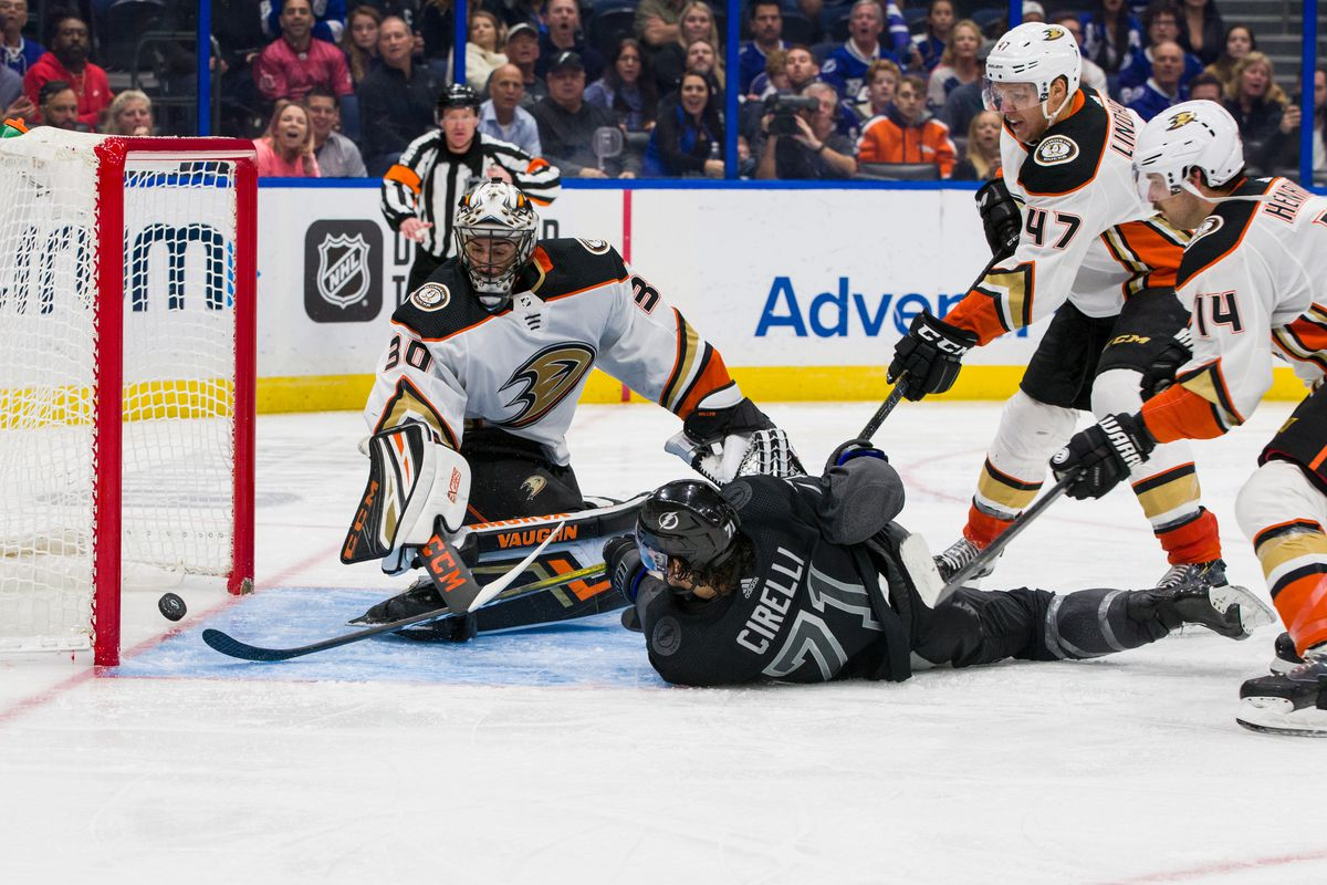 Anaheim Ducks v Tampa Bay Lightning