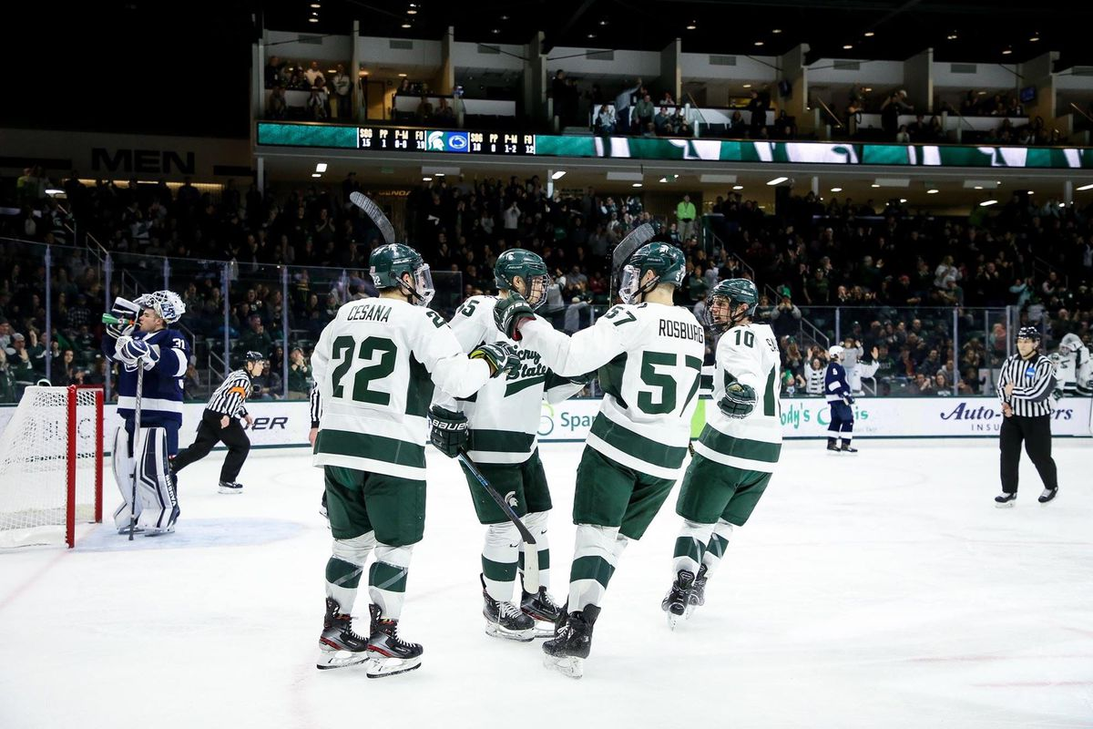 Spartans Fall to Penn State 2-1 in Overtime