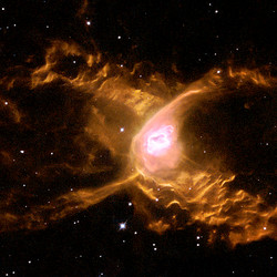 """<a class=""""colorful"""" href=""""http://spacetelescope.org/images/heic0109a/"""">The Red Spider Nebula (2001)</a>"""