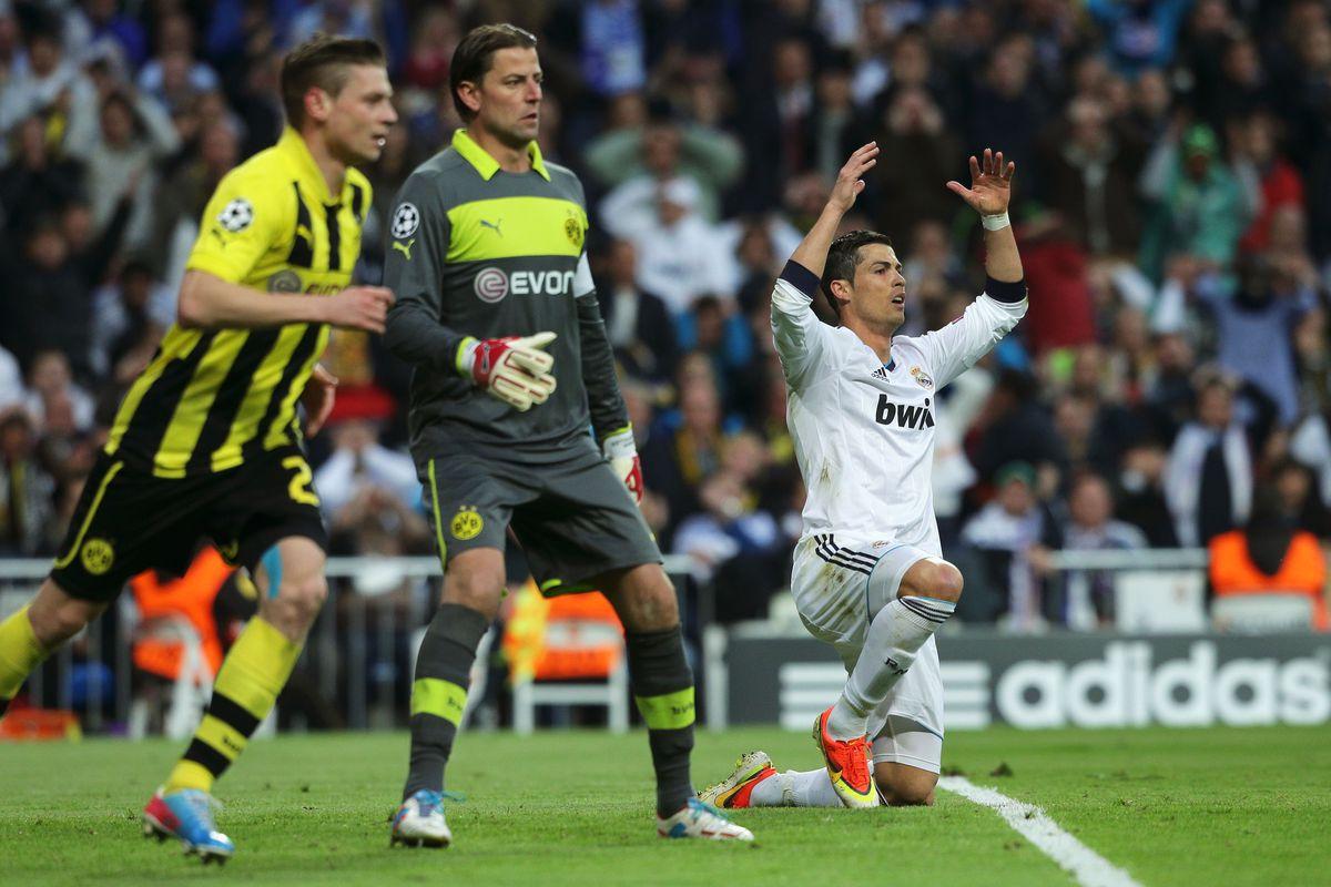 Dortmund Real Madrid Champions League