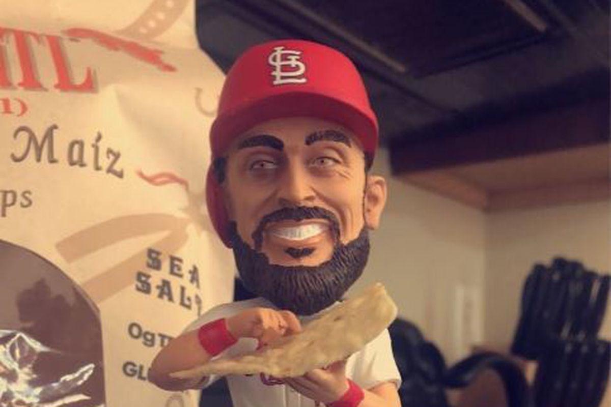 Matt Carpenter, salsa, bobbleheads, and Cardinals Care - A Hunt and Peck