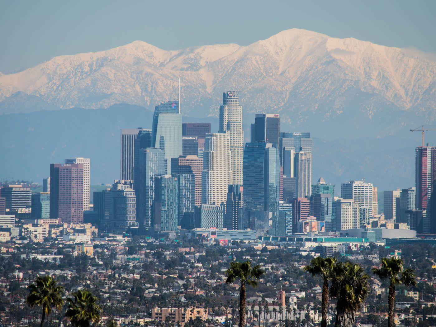 See How Much La S Skyline Changed In 10 Years Curbed La
