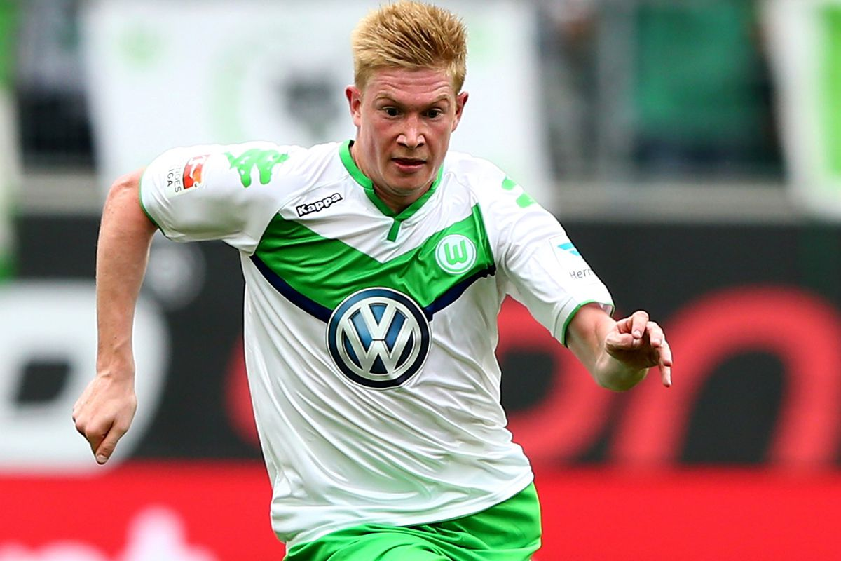 buy online 38a1c 2d938 Kevin De Bruyne says he's not ditching Wolfsburg for Premier ...