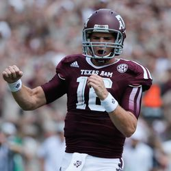 <strong>MATT JOECKEL:</strong> The brother of fellow Aggie and NFL first round pick Luke Joeckel, Matt started one game for Texas A&M when Johnny Manziel was suspended for the first half against Rice in 2013. Joeckel became a graduate transfer to TCU in April 2014.