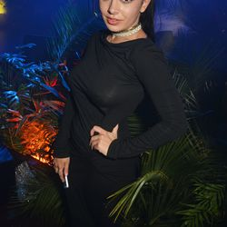 Charli XCX at the Chopard Wild party.