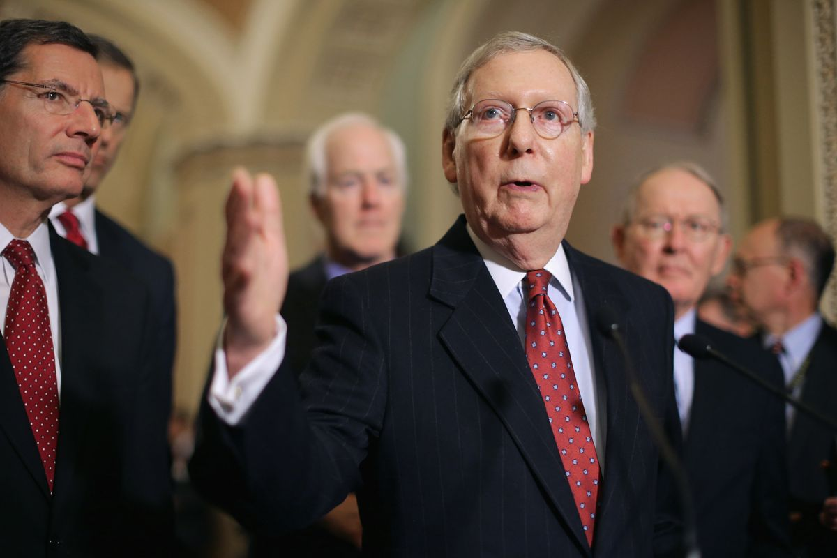 Senate Majority Leader Mitch McConnell, the man leading America's worst government institution.