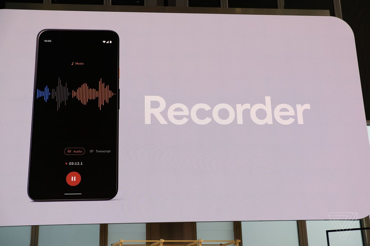 Googles Recorder App Is Now Available For The Pixel 2 3