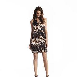 Shawl neck bubble dress, $64*