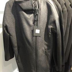 Rhoda wool coat, $450 (was $750)