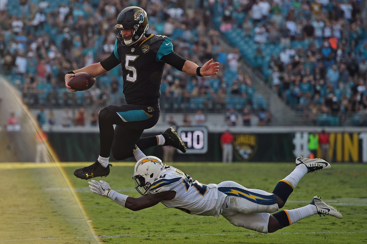 29f999e8688 2018 NFL playoffs odds: Los Angeles Chargers more likely to make the  postseason than the Jacksonville Jaguars?