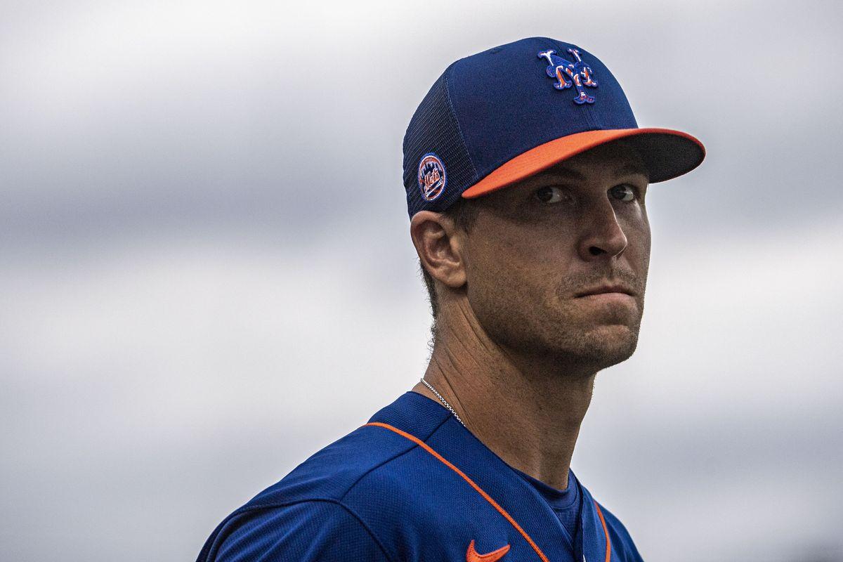 New York Mets' Pitcher Jacob deGrom