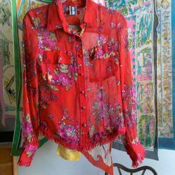 Jean Paul Gaultier blouse, $200