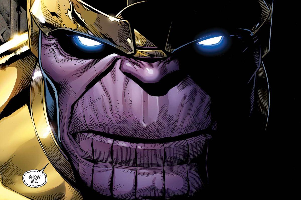 Thanos in Infinity #1, Marvel Comics (2013).