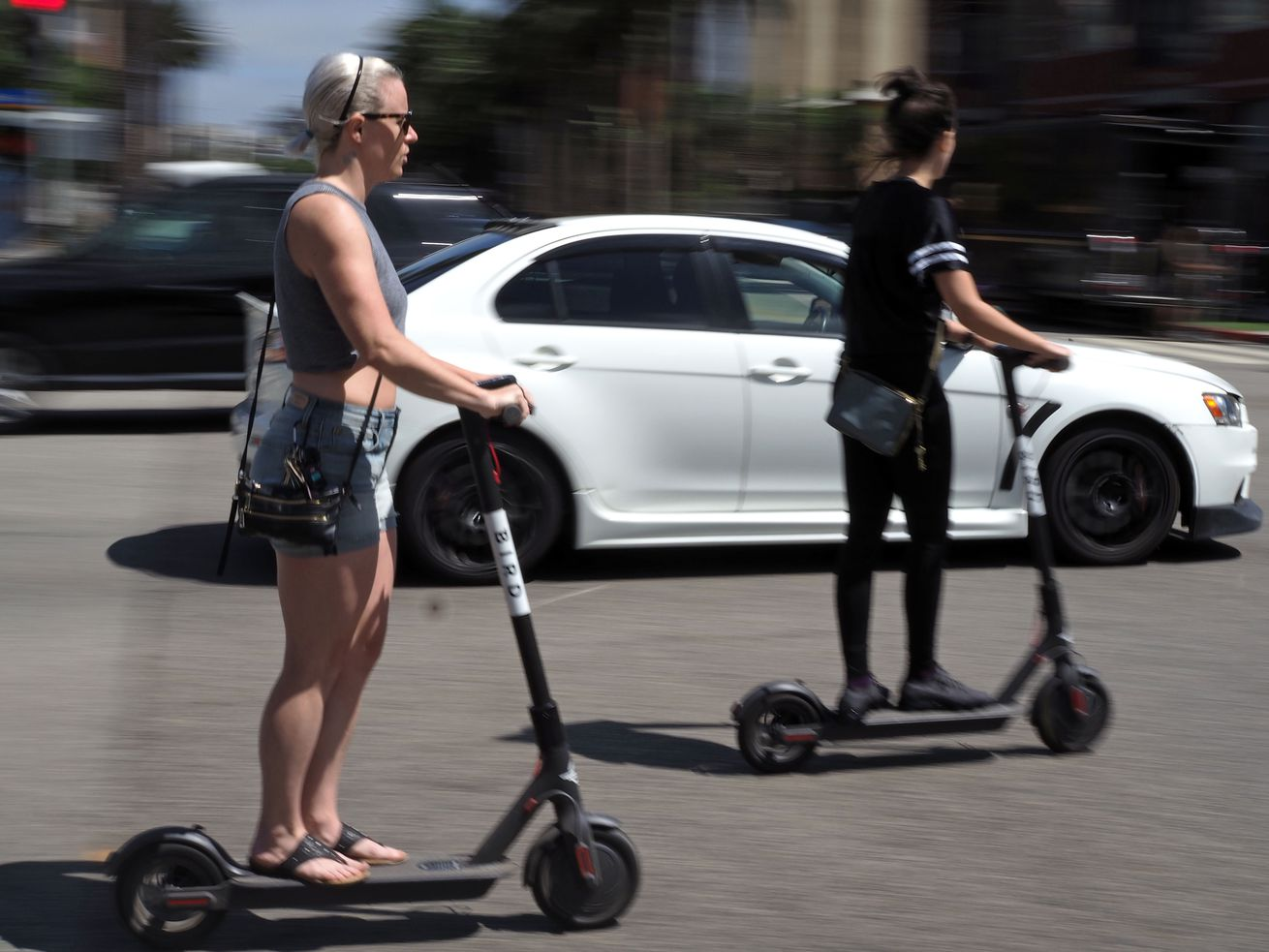 Electric scooters launch in Chicago Saturday.