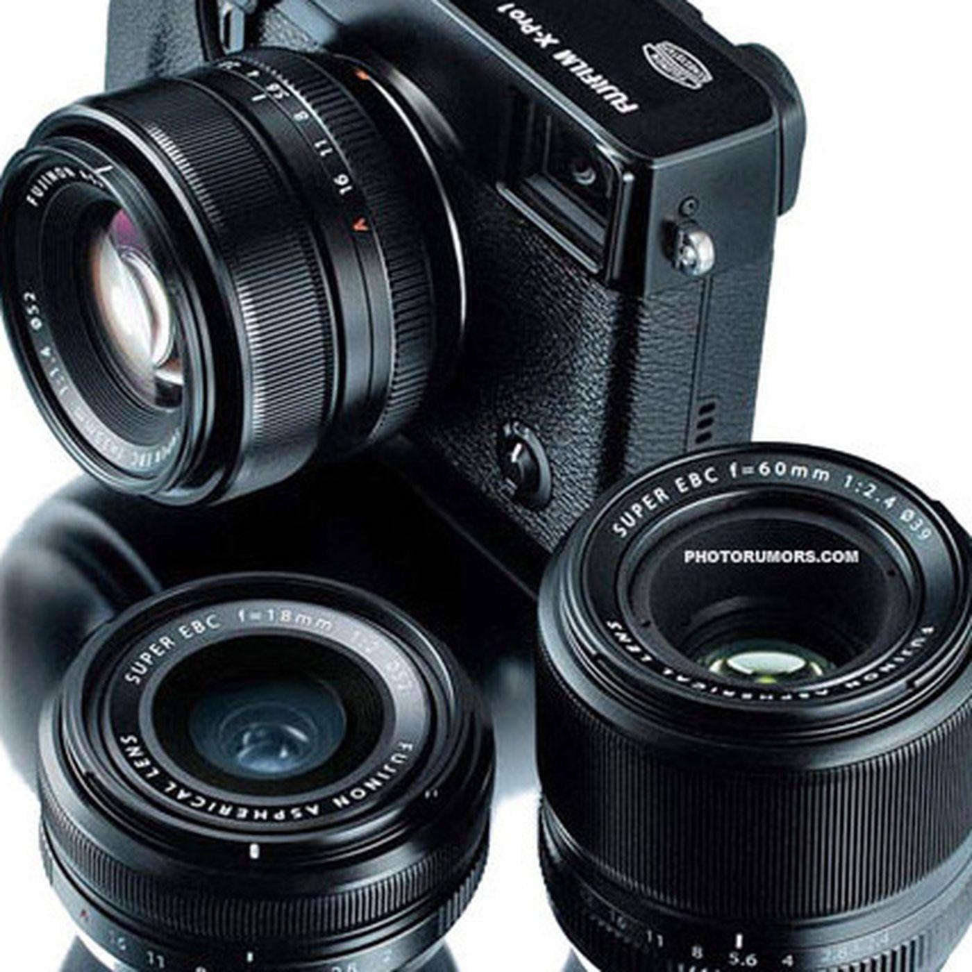 Better Fujifilm X-Pro1 pictures leak as lenses appear for