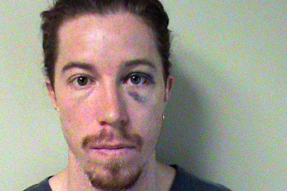 This photo provided by the Metropolitan Nashville Police Department shows Shaun White. A police report says the two-time Olympic gold medalist snowboarder was charged with vandalism after an employee at a Nashville hotel saw him break a phone there. He is
