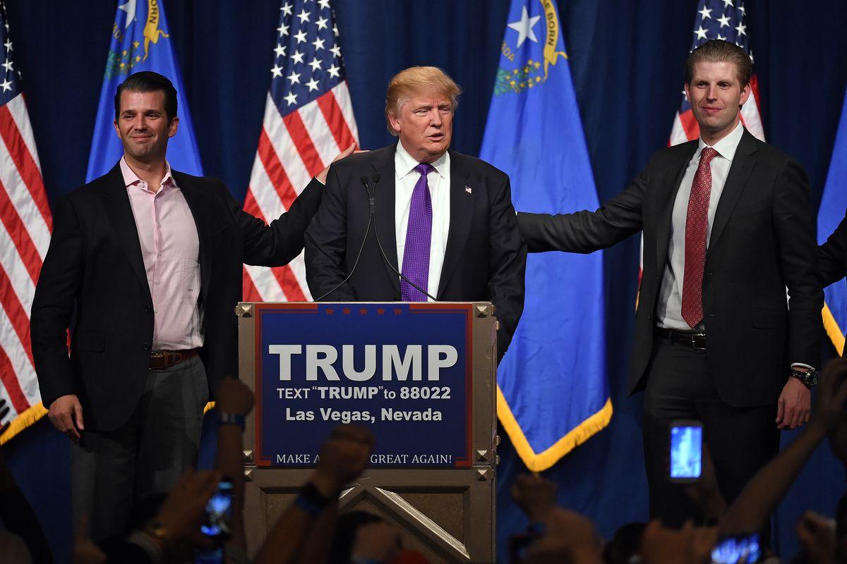 Donald Trump Hosts Nevada Caucus Night Watch Party In Las Vegas