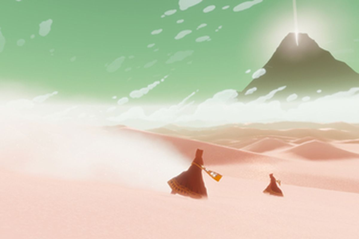 Journey Headed To Pc Via Epics New Steam Store Rival The