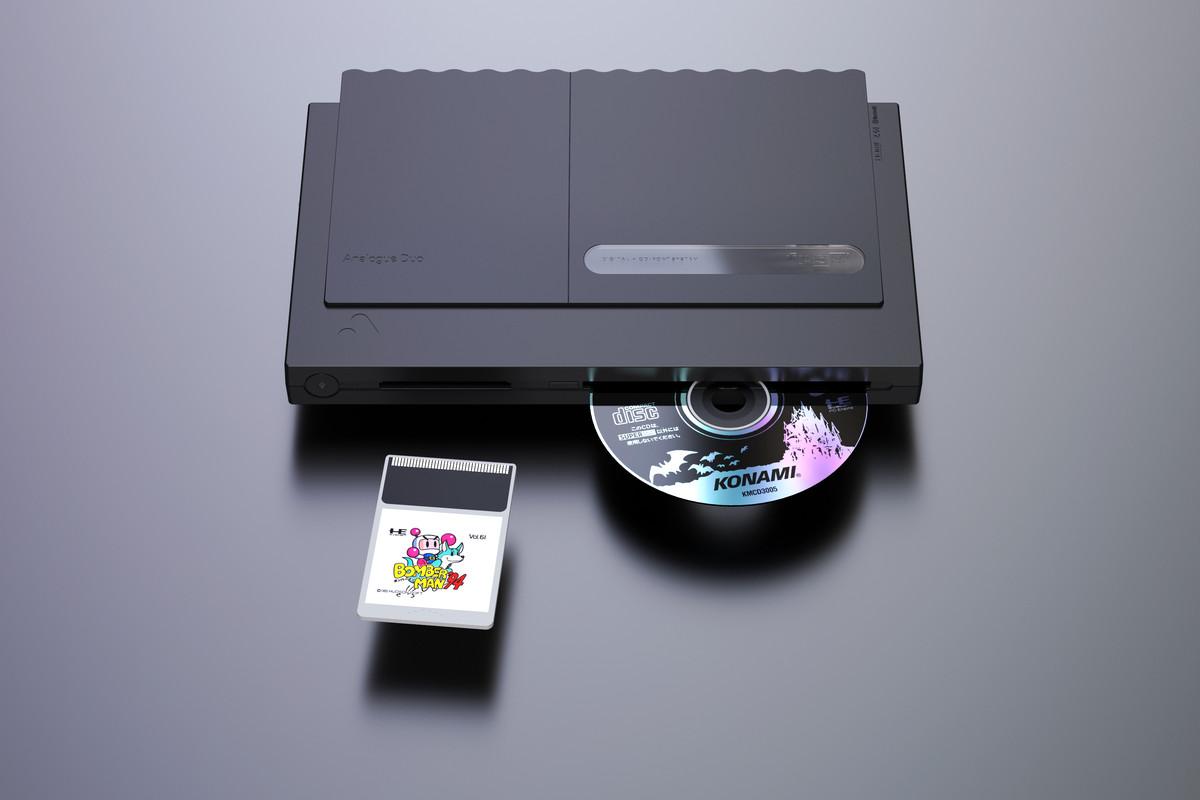 Analogue's next sleek retro console targets the TurboGrafx family
