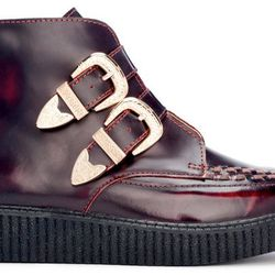 """Buckle ankle creepers, <a href=""""http://www.jco.la/preorder/buckle-ankle-creepers""""target=""""_blank"""">$158</a>."""