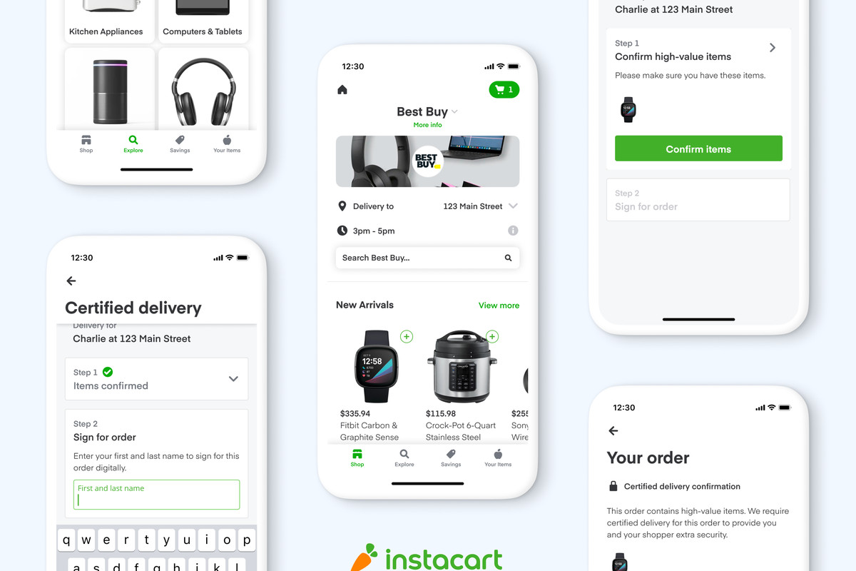 Best Buy Partners With Instacart For Same Day Delivery Across The Entire Us The Verge