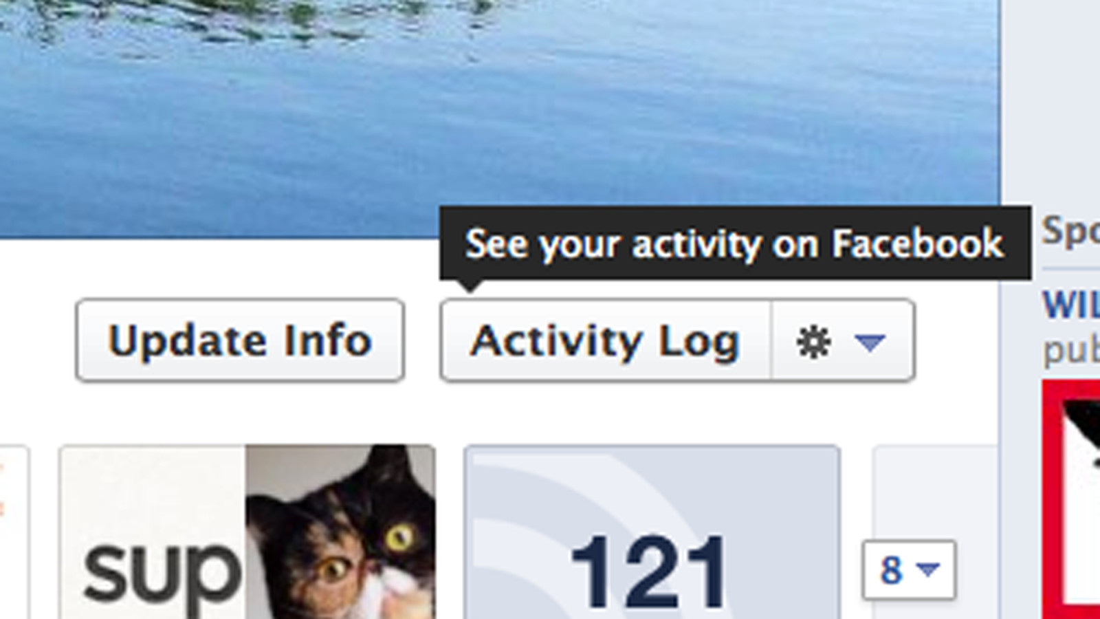 Facebook now saves all your searches to your private