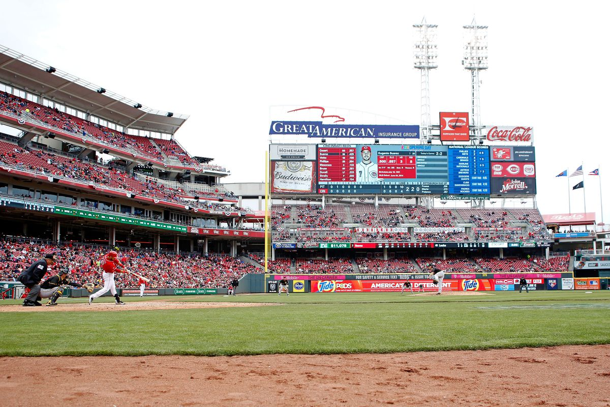 Tennessee third baseman Nick Senzel could soon be calling Great American Ball Park his home park.