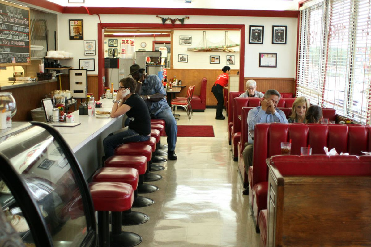Norma's Cafe in Oak Cliff.