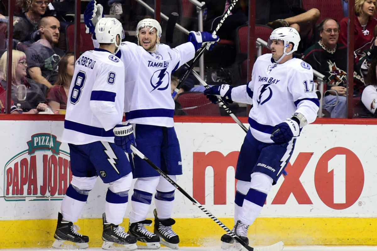 Ryan Callahan is happy in Tampa Bay. Why wouldn't he be?