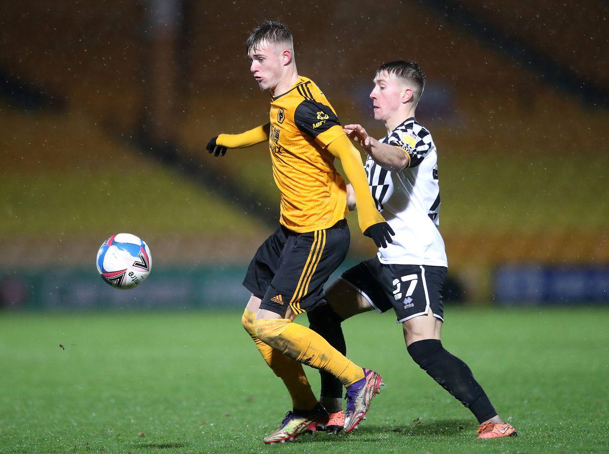 Port Vale v Wolverhampton Wanderers U21 - EFL Trophy
