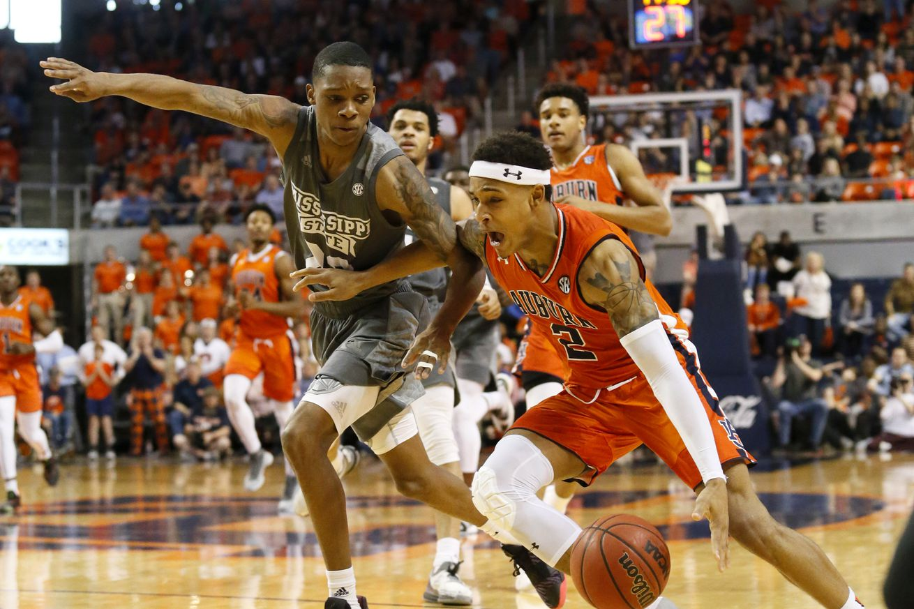 NCAA Basketball: Mississippi State at Auburn
