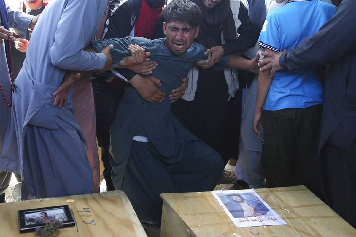 Islamic State takes credit for bombing Kabul wedding that killed 63