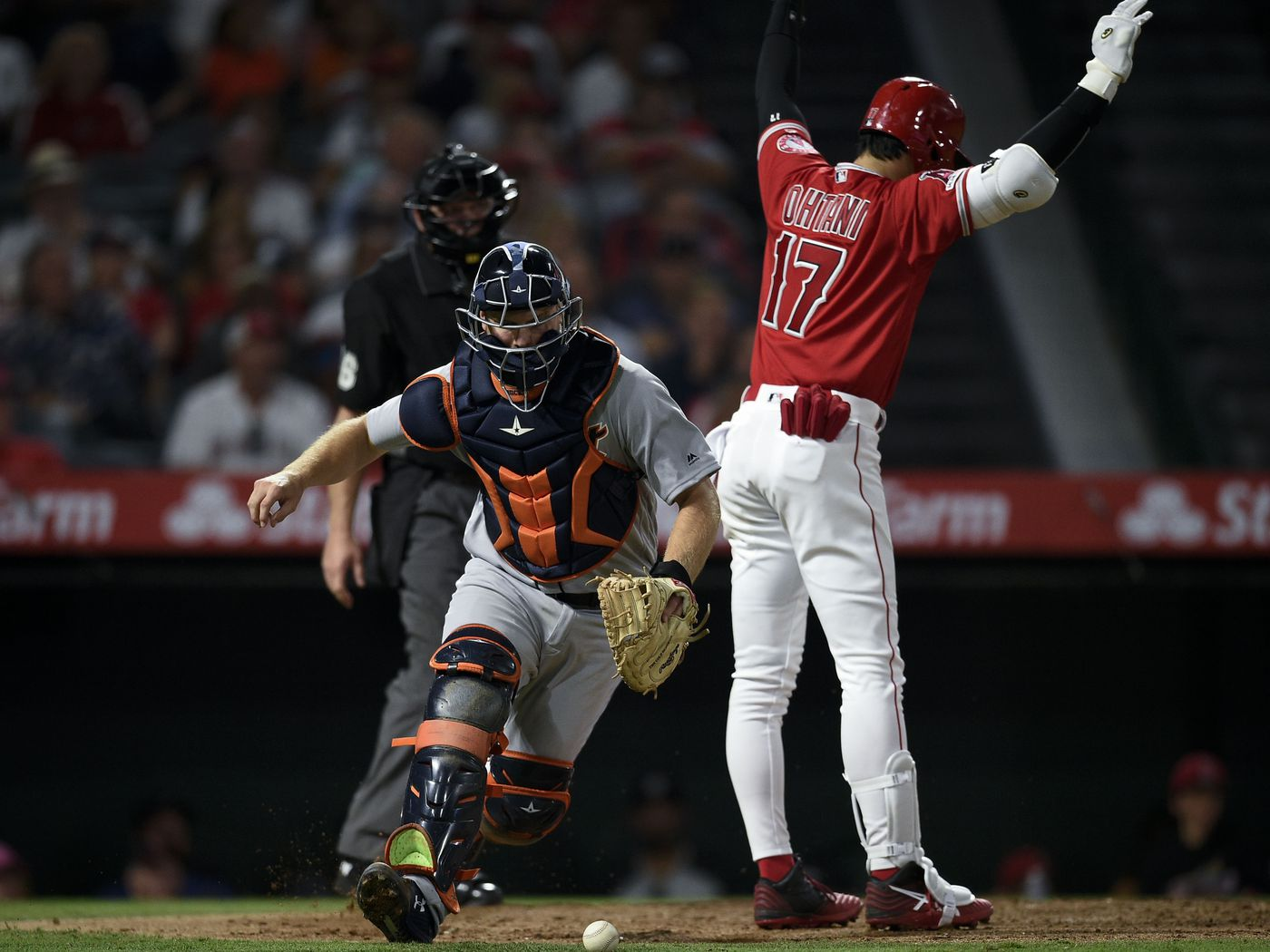 Angels emphatically lose to the undisputed worst team in baseball