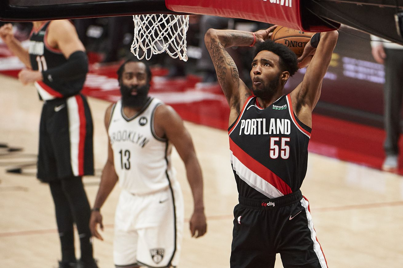 NBA: Brooklyn Nets at Portland Trail Blazers